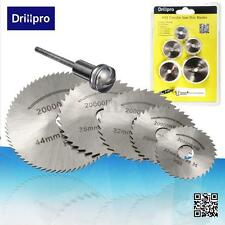6Pcs HSS Saw Disc Set Wheel Cutting Blades for Dremell Drills and Rotary Tools