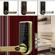 Smart Digital Electronic/Code Keyless Keypad Door Entry Lock Kit +11 Card Tags