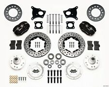 AMC Gremlin,Javelin,AMX,Wilwood Forged Dynalite Front Brake Kit,Drilled Rotors ~