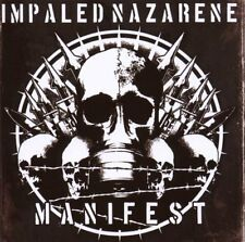CD NUOVO: MANIFEST IMPALED NAZARENE (nuovo & sigillato) (Heavy Metal Hard rock)