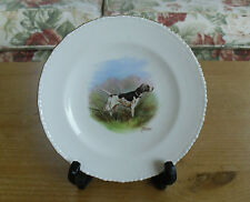 Royal Crown Derby English Pointer Hand Painted(J Barlow) Cabinet Plate - 6 3/8""