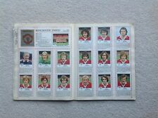 Panini Football 80 Stickers - Complete Manchester United Team