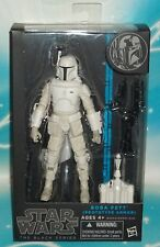 Star Wars BLACK SERIES 6 INCH BOBA FETT - EXCLUSIVE PROTOTYPE WHITE ARMOR FIGURE