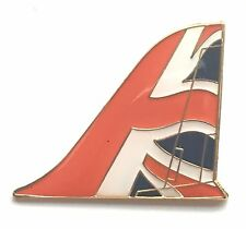 RAF Royal Air Force Red Arrows Aeroplane Tail Pin Badge *Official Product