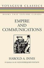 Empire and Communications by Harold A. Innis (2007, Paperback)