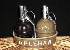 Ceramic Set For Spices in the Form of a Grenade RGD5 & F1 // РГД-5 & Ф-1  #1