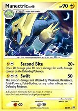 DP PLATINUM ARCEUS POKEMON HOLO RARE CARD MANECTRIC 22