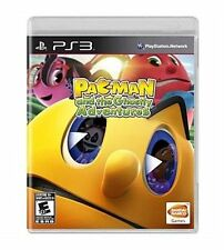 Sony Playstation 3 PS3 Game Disc PAC-MAN AND THE GHOSTLY ADVENTURES