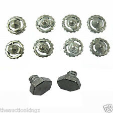 Beyblade Metal Fusion Masters Fight Metal 2 Bolts & 8 Tips * USA SELLER *