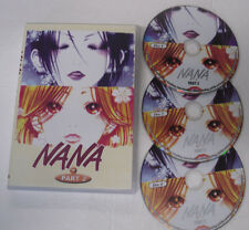 NANA Anime DVD Part 2, 3 discs Set, Episodes 27-50, Japanese Audio w Subtitles