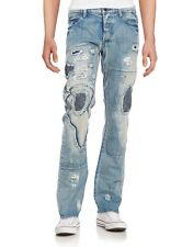 NWT Men's PRPS Goods Co Japan DANNO Barracuda Low Rise Jeans 36 x 34 $425