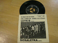 "7"" Single The finnish Jenka All Stars Finnland LETKIS Vinyl RCA VICTOR 47-9608"