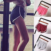 Ladies Womens Girls Stretch Sexy Hot Pants Shorts Dance GYM Fitness Sport Shorts