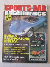 Sports Car Mechanics Magazine 4, June 1982, Porshe Replica, Scimitar, Ginetta