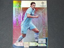 BARRY MANCHESTER CITIZENS UEFA PANINI CARD FOOTBALL CHAMPIONS LEAGUE 2011 2012