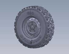 LEGEND 1/35 LF1228 Wolf W.M.I.K Aggressive Tread Wheel tamiya dragon afvclub