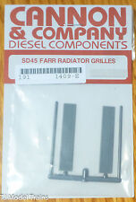 Cannon & Company #1409 Radiator Grilles- Farr Type forSouthern Pacific EMD SD39
