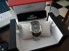 Tissot T Touch Polished Titanium Sapphire Crystal Carbon Fiber Dial 42 mm Box