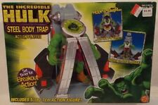 "The Incredible Hulk - 5"" Steel Body Trap Breakout Action Playset ToyBiz (MIB)"