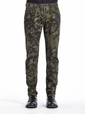 DIESEL BLACK GOLD TYPE-241 CAMOUFLAGE PRINTED JEANS W30 100% AUTHENTIC