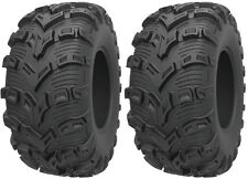 Pair 2 Kenda Bearclaw EVO 26x9-12 ATV Tire Set 26x9x12 K592 26-9-12