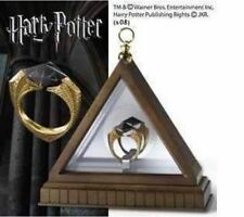 Harry potter deathly Horcruxes Resurrection Stone Retro Bronze Crystal Ring WY