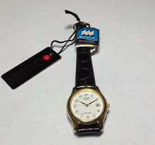 NOS 1990's Citizen Ladies Leather Watch Ref. EU0392-07C