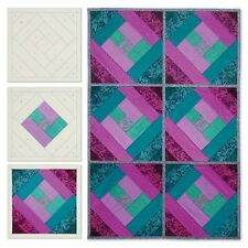 June Tailor Quilt As You Go Printed Quilt Blocks On Batting - 087060
