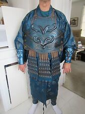 """47 RONIN"" MOVIE BLUE SAMURAI SCREEN WORN COSTUME"