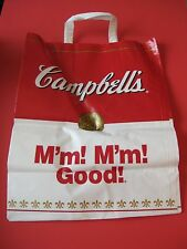 Campbell's Soup large Plastic Shopping Bag