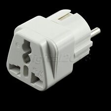 Travel AC Power Socket Plug Adapter Converter EU US