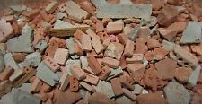1/35th scale Brick rubble debris, Tamiya Meng diorama