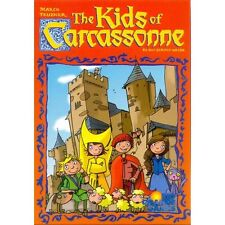 The Kids of Carcassonne (same as My First Carcassonne) boardgame