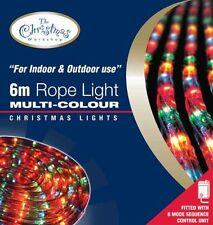 Benross The Christmas Lights 6m Chaser Rope Light - Multi-Coloured