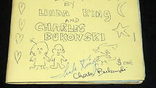 Charles Bukowski - Linda King - 1972 Me and Your Sometimes Love Poems SIGNED