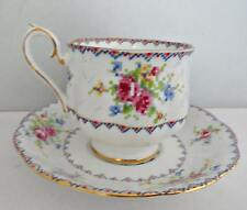 Royal Albert Petit Point Chintz Bone China Cup & Saucer