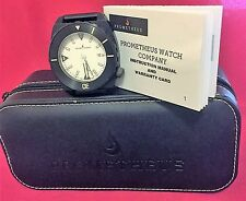PROMETHEUS MANTA RAY  Ultra Rare with its ETA 2824-2, White Face and Black Mesh