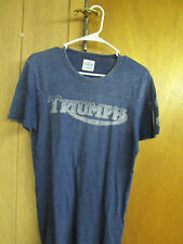 Lucky Brand TRIUMPH MOTORCYCLES  T-Shirt S/XS