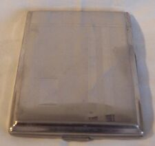 VINTAGE  PROMETHEUS STAINLESS STEEL CIGARETTE CASE MADE IN GERMANY