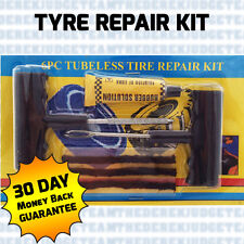 Emergency Car Tyre Puncture Repair Kit + 21 STRIPS Van Tubeless DIY GREAT VALUE