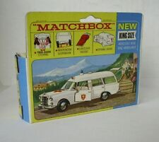 Repro Box Matchbox King Size K- 6 Binz Ambulance
