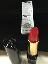 Lancome L' Absolu Rouge Lipstick in Hold Up Red - Spf 12 - Boxed -