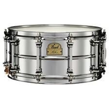 "Pearl Snare Drum  IP1465 Ian Paice Signature Series 14""x6.5"" Beaded Steel"