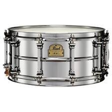 "Pearl Snare Drum  IP1465 Ian Paice Signature Series 14""x6.5"" Beaded Steel"