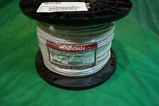 Tappan P4065 18/6C 18 AWG Sound/Security CMP White Cable, 1000 Ft.