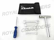 NEW VESPA COMPLETE TOOL KIT SET WITH BLACK COLOURED POUCH