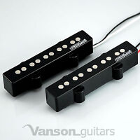 NEW Wilkinson MWJB5 Neck & Bridge Bass Pickups for 5 string 'JB' guitars, Jazz