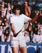 ILIE NASTASE TENNIS LEGEND 8X10 SPORTS PHOTO