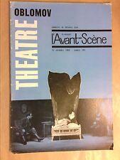 L'AVANT SCENE N° 299 / OBLOMOV / MARCEL CUVELIER / BON ETAT