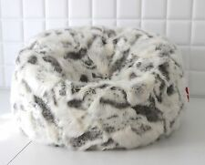 LARGE LUSH & SOFT GOAT FAUX FUR BEAN BAG CLOUD BEAN BAG CHAIRS COVER